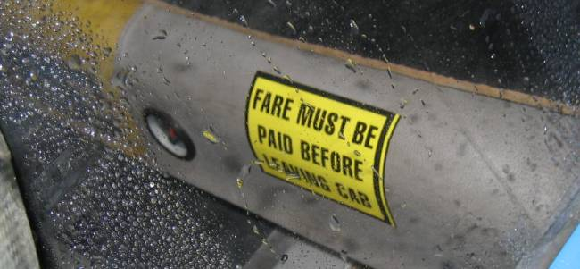 fare must be paid