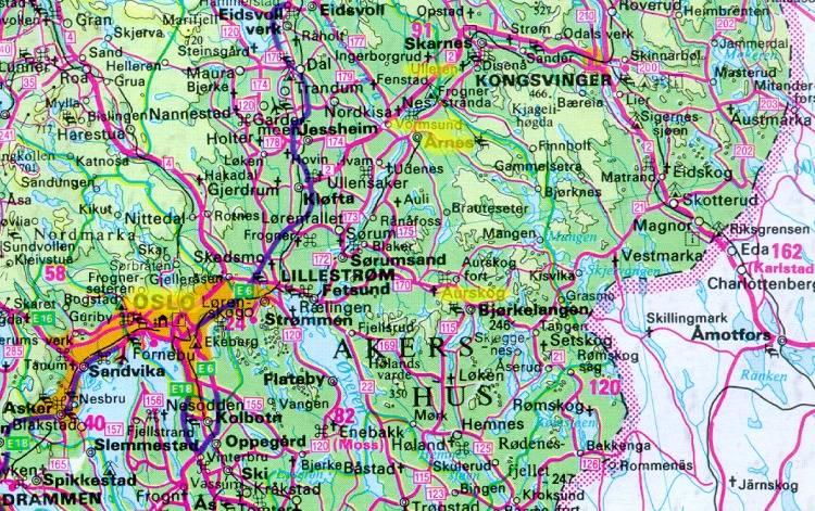 kart oslo og omegn EV2005 i Oslo og omegn ~ ~ ~ ~ ~ ~ ~ ~ ~ kart oslo og omegn