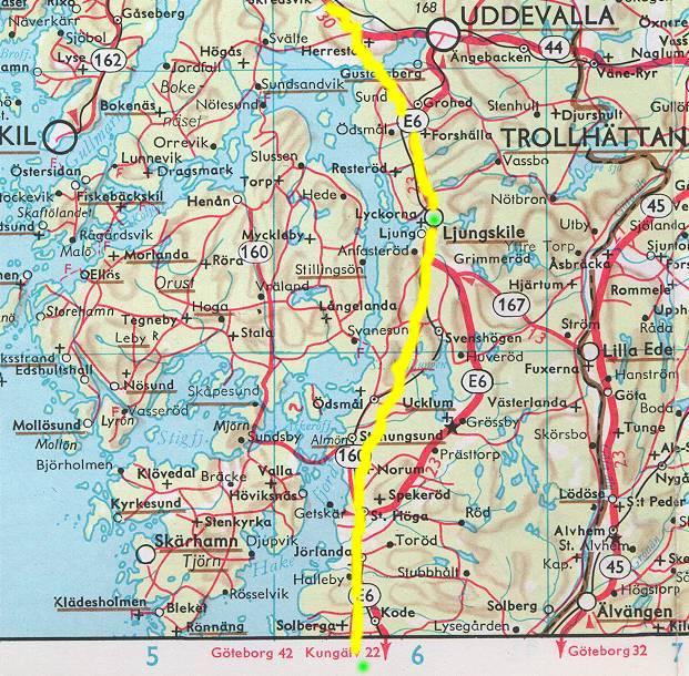 kart oslo gøteborg GO2001 24 maj kart oslo gøteborg